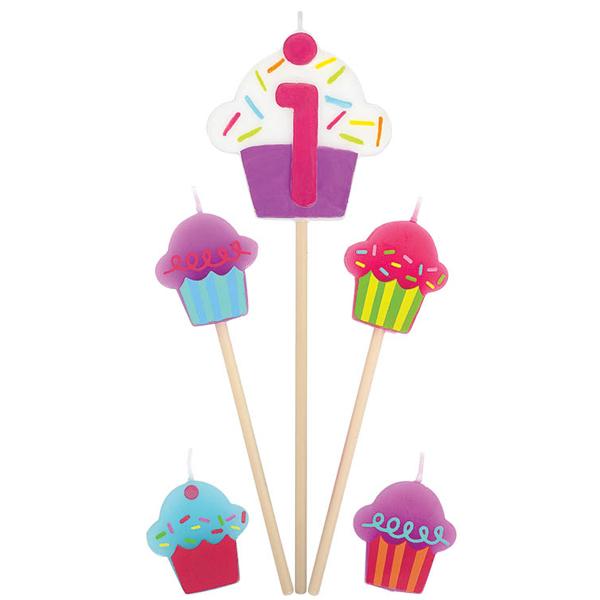 キャンドル Bピック 1サイカップケーキ