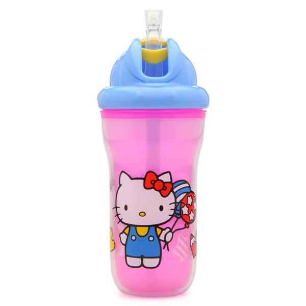 【Nuby】インシュレイテッド・フリップイット・ボトル Hello Kitty