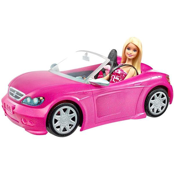 【バービー】DJR55 バービー と かわいいピンクのクルマ