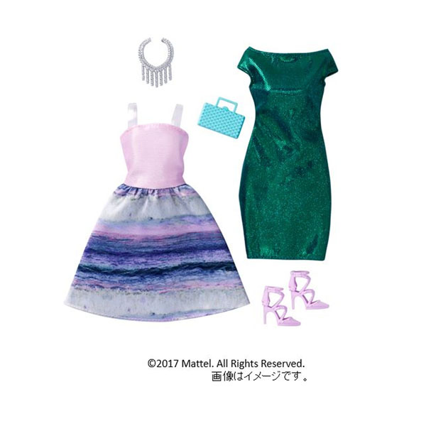 【バービー】DWG42 バービー ファッションドレス2パック (マーメイド)