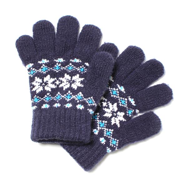 ノルディック柄のびのび手袋(男の子)