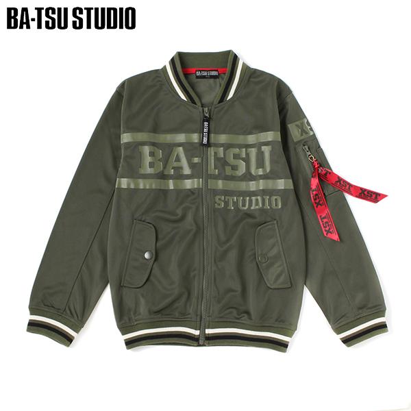 【BA-TSU STUDIO】トリコットラインリブMA-1ジャケット(男児)
