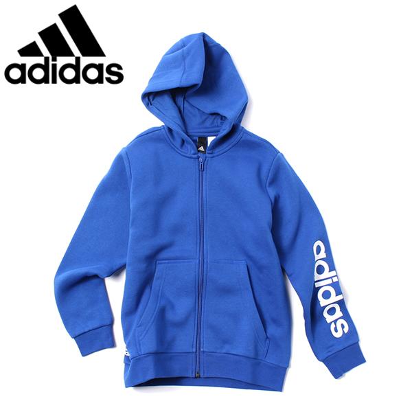 【adidas】裏起毛ジップパーカ(男児)