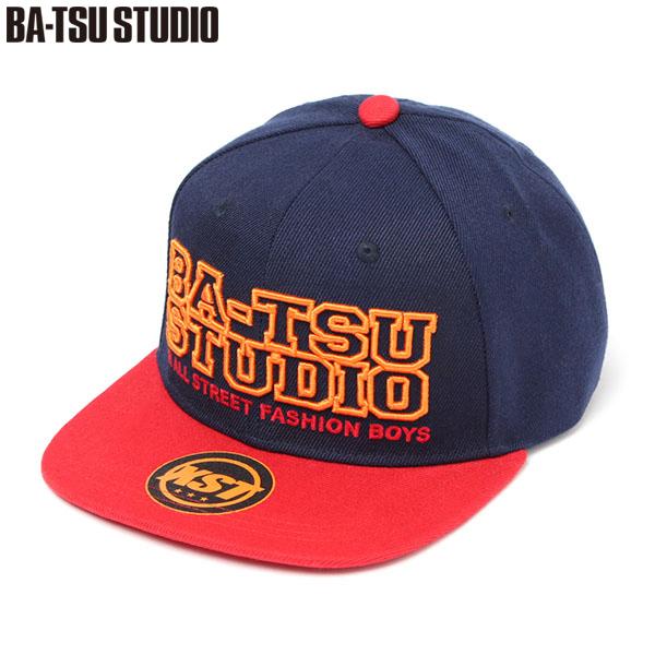 【BA-TSU STUDIO】3D刺繍スナップバックキャップ(男児)
