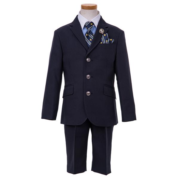 【DISNEY】サス付3釦ジャケット3点スーツ(男児)