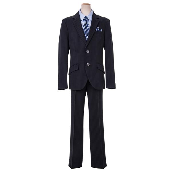 【VOWW NEO】ノッチド衿ジャケット3点スーツゆったりサイズ(男児)