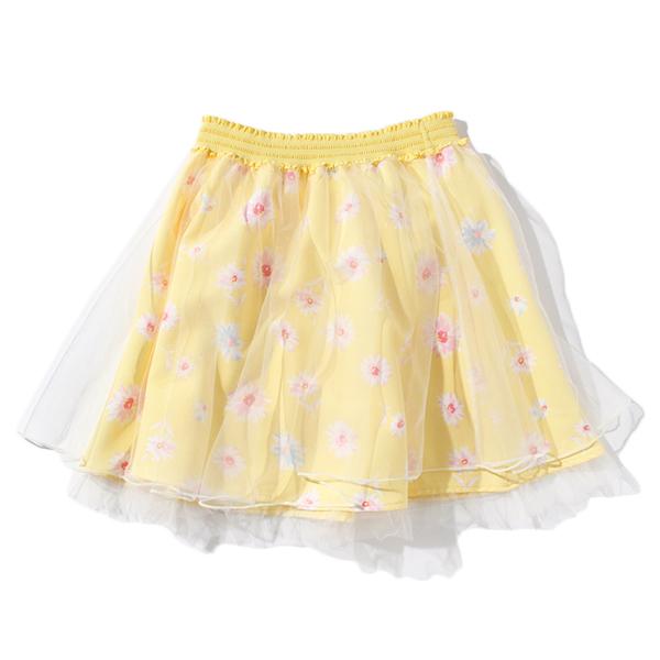 【トップバリュ】花柄スカート(女児)