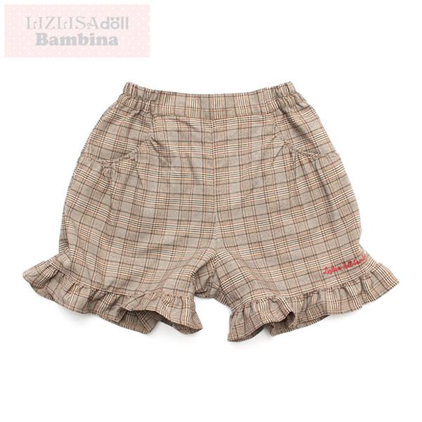 【LIZLISAdollBambina】裾フリルショートパンツ(女児)