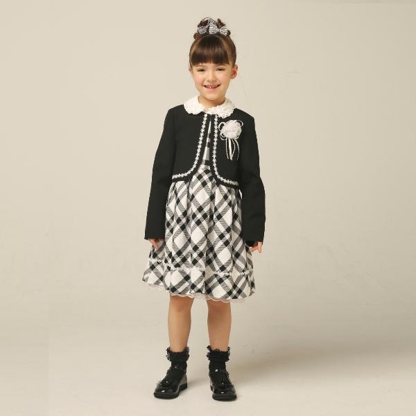 【hiromichi nakano children】ボレロジャンスカ3点スーツ(女児)