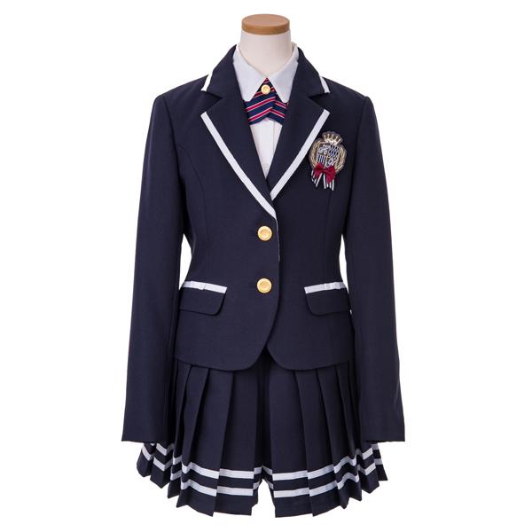 【hiromichi nakano children】エリラインジャケットプリーツキュロット3点スーツ(女児)