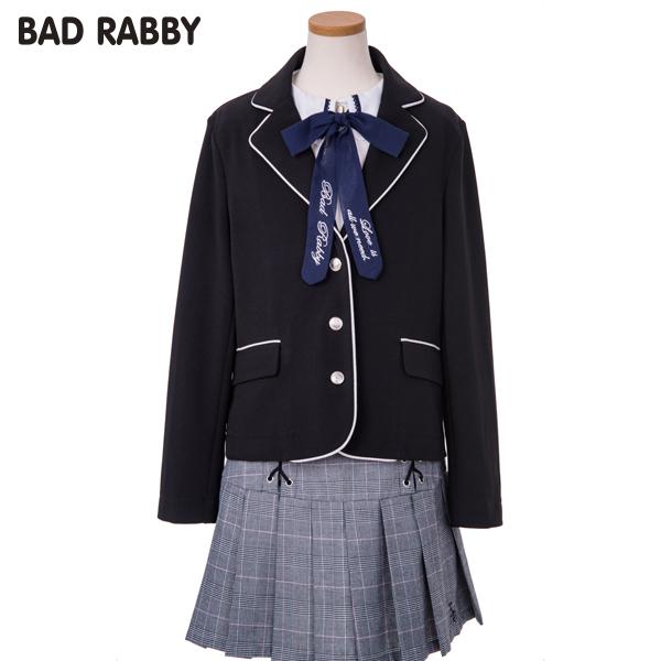 【BADRABBY】ストレッッチポンチテーラードジャケット(女児)