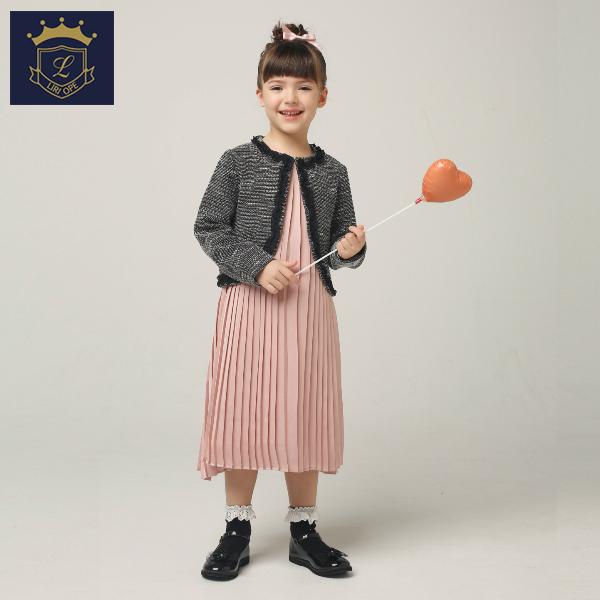 【LIRIOPE】プリーツワンピース(女の子)