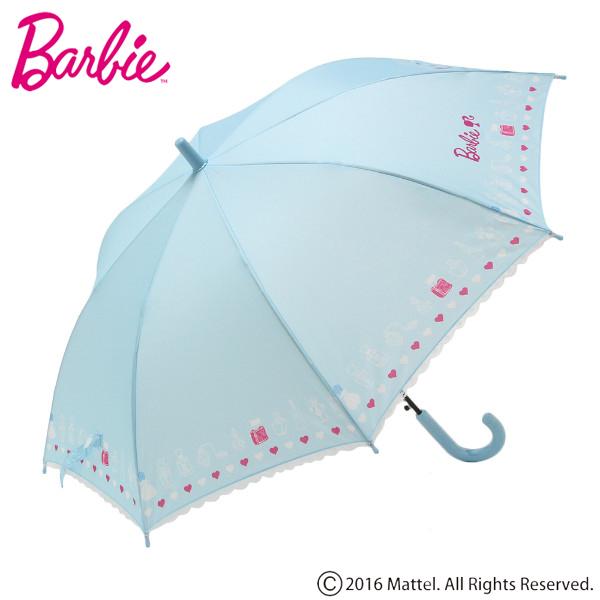 【Barbie】コスメ柄耐風傘(女の子)