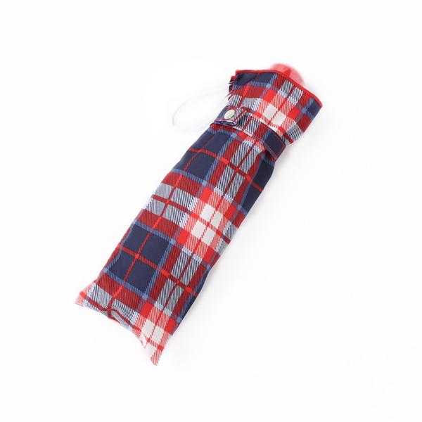 【トップバリュ】折傘55cmチェック(女の子)