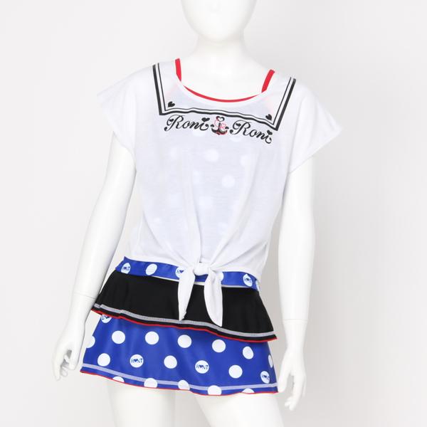 【RONI】タンキニTシャツセット水着(女の子)