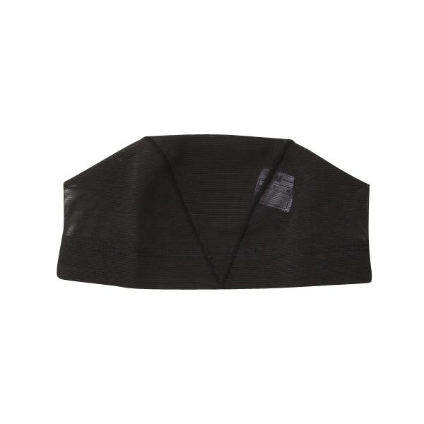 水泳キャップ(海水可) Mサイズ ブラック