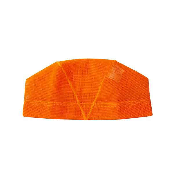 水泳キャップ(海水可) Lサイズ オレンジ