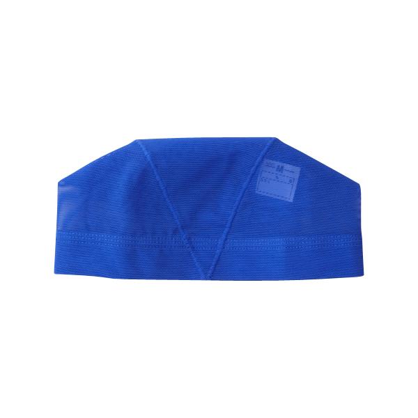 水泳キャップ(海水可) LLサイズ ブルー