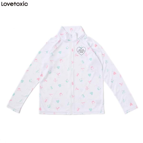 【lovetoxic】総柄UVウェア(女の子)