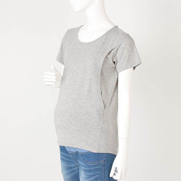 【トップバリュ】無地半袖クルーネックシャツ