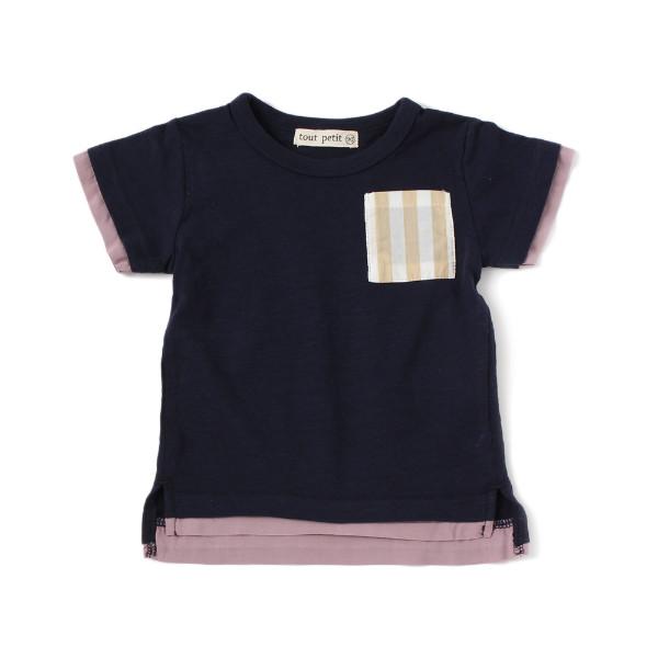 【tout petit】ポケットTシャツ(男の子)