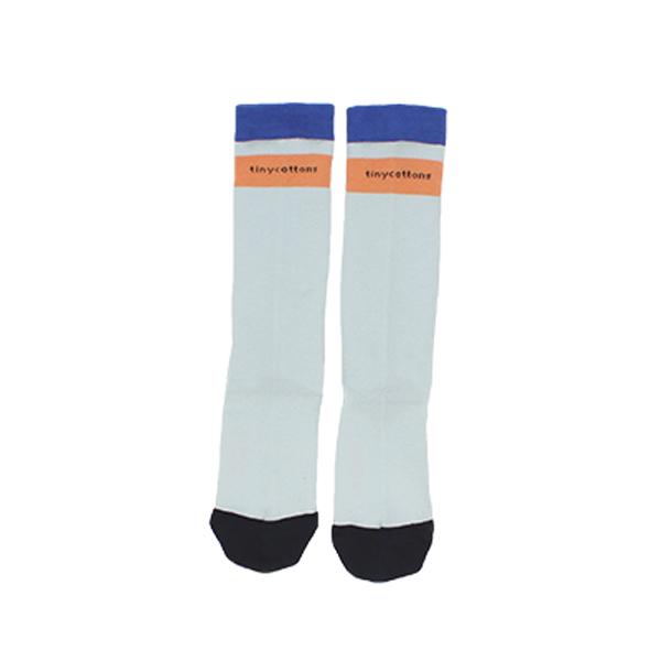 【tinycottons】logo high socks