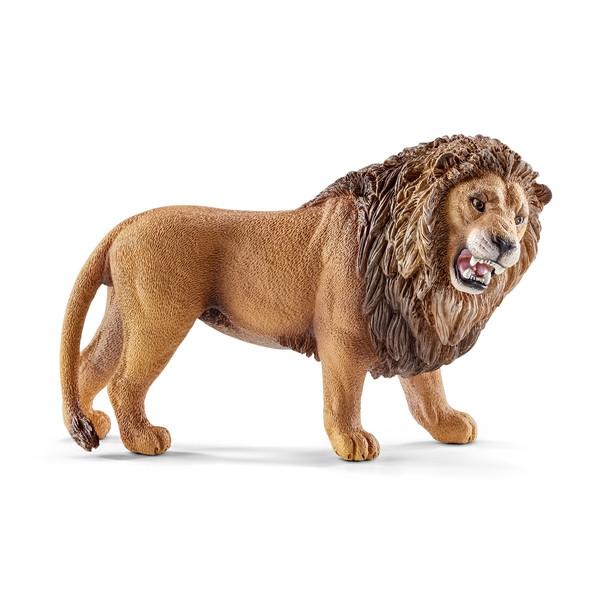 キャラクターのライオン(吠える)