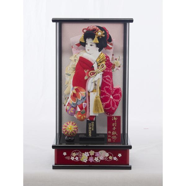 【福仙】姫桜羽子板ケース飾り