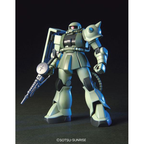 【バンダイ プラモデル】HGUC ザク2 量産型