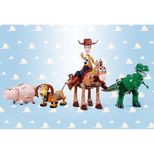 おもちゃの超合金 トイ・ストーリー 超合体 ウッディロボ・シェリフスター