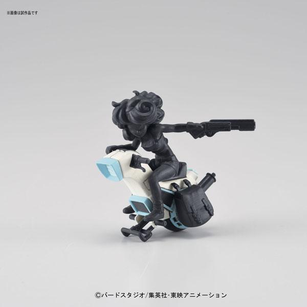 【バンダイ プラモデル】 メカコレクション ドラゴンボール 3巻 ランチの一輪バイク
