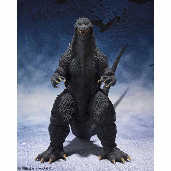 【お一人さま1点限り】【S.H.Figuarts】【予約】【11月28日16時予約販売開始】【4月発売】S.H.MonsterArts ゴジラ (2002)