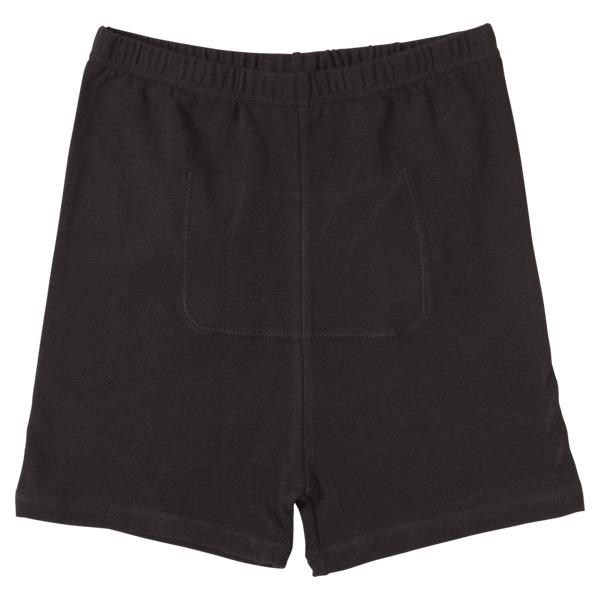 【トップバリュ】スクールレギンスオーガニック綿混マイクロ丈ポケット付き(女児)
