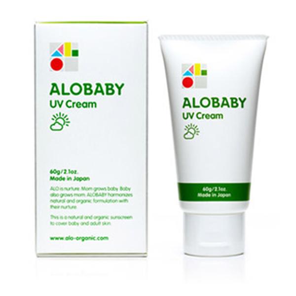 【ALOBABY アロベビー】ALOBABY UVクリーム 60g
