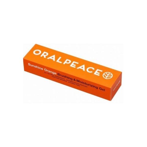 【オーラルピース】歯みがき&口腔ケアジェル サンシャインオレンジ