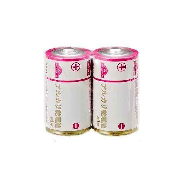 【トップバリュ】アルカリ乾電池 単1形2個入り