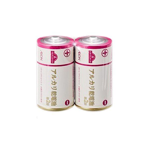 【トップバリュ】アルカリ乾電池 単2形2個入り