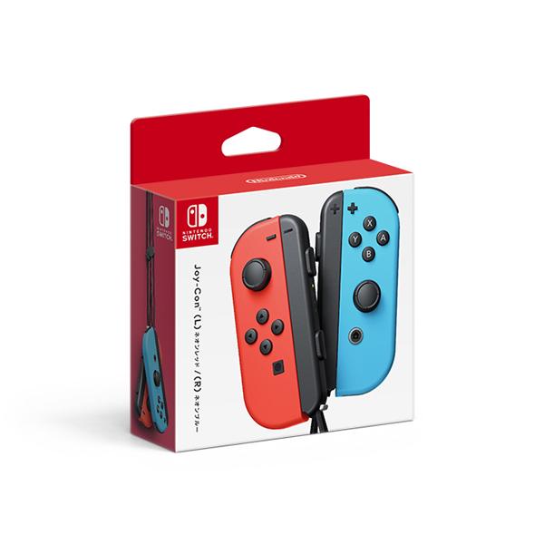 Nintendo Switch Joy-Con(L) ネオンレッド/(R) ネオンブルー