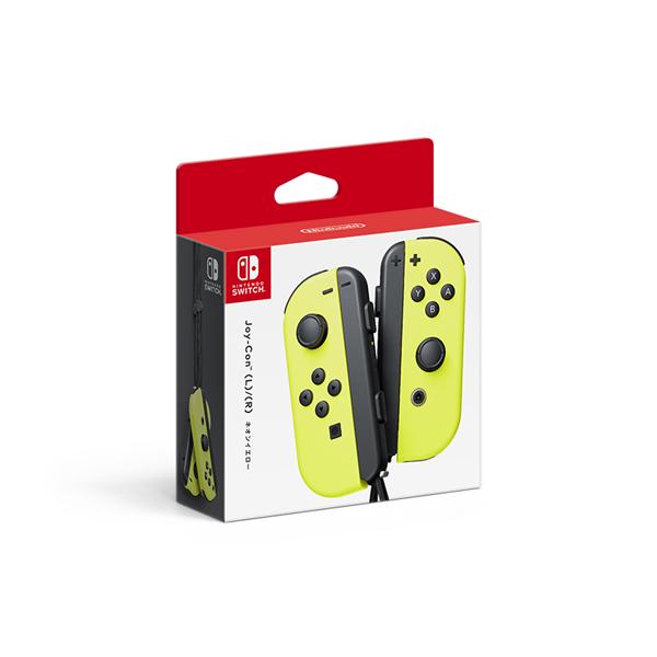 Nintendo Switch Joy-Con (L)/(R) ネオンイエロー