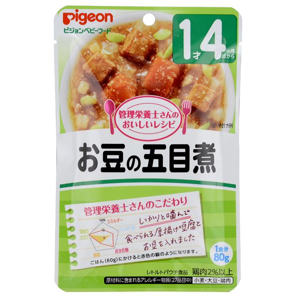 ≪よりどり6点(本体価格480円)≫【ピジョン】おいしいレシピ お豆の五目煮