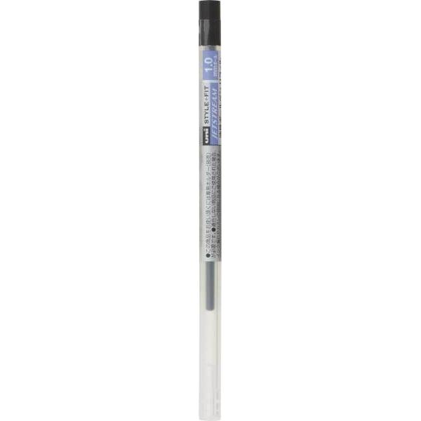 三菱鉛筆 スタイルフィット専用替芯 油性ジェットストリーム 1.0mm 黒