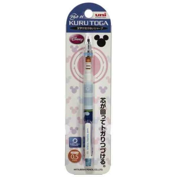 三菱鉛筆 シャープペンシル クルトガ スタンダードモデル 0.5mm ドナルド
