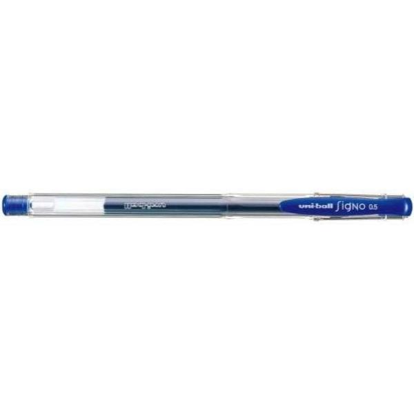 三菱鉛筆 シグノ ゲルインクボールペン 0.5mm UM-100 青
