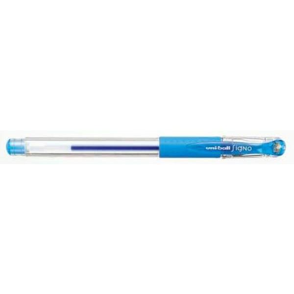 三菱鉛筆 シグノ ゲルインクボールペン 0.28mm UM-151-28 ライトブルー