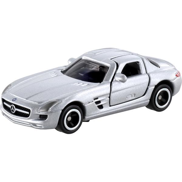 <イオンのキッズ通販> ミニカー・乗り物なら NO.91 メルセデスベンツ SLS AMG ブリスターパッケージ
