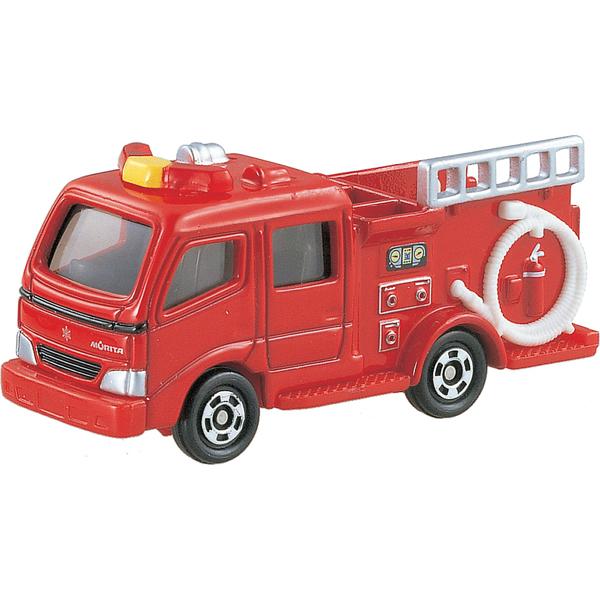 <イオンのキッズ通販> ミニカー・乗り物なら NO.41 モリタポンプ消防車 ブリスターパッケージ