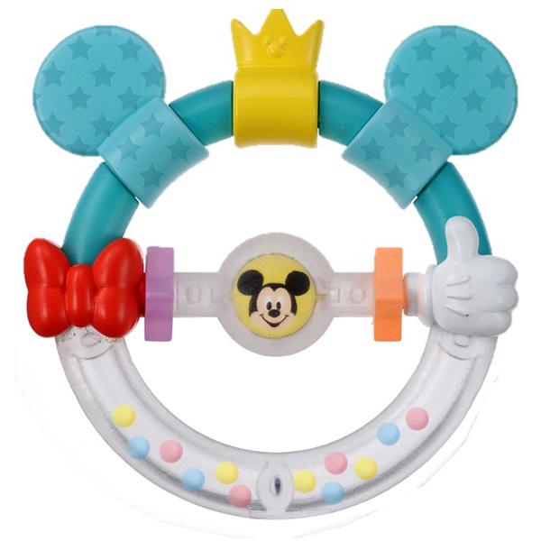 知的玩具なら Dear Little Hands おしゃぶりラトル ミッキー&ミニー