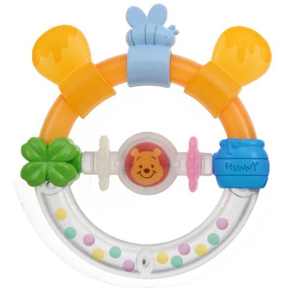 知的玩具なら Dear Little Hands おしゃぶりラトル くまのプーさん