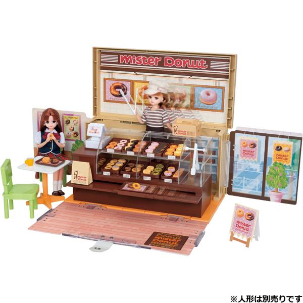 【リカちゃん】ドーナツいっぱい ミスタードーナツショップ