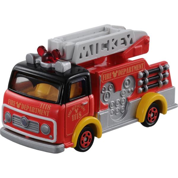 ミニカー・乗り物なら ディズニーモータース DM-17 キャスパルズ ファイヤートラック ミッキーマウス